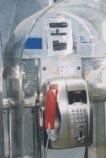 ウルトラマンのような電話器